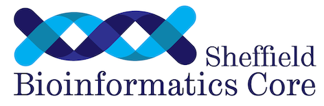 Sheffield Bioinformatics Core Facility logo